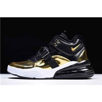 Men's Nike Air Force 270 QS Gold Standard AT5752-700 On Sale