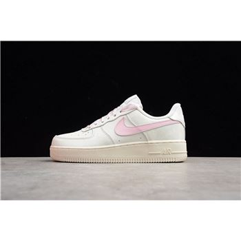 Women's Nike Air Force 1 Low GS Sail Artic Pink 314219-130