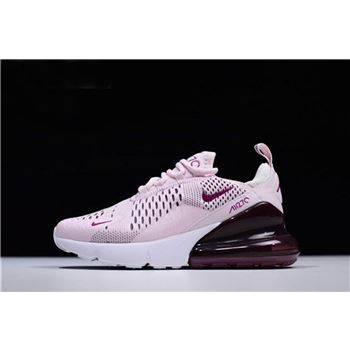 Nike WMNS Air Max 270 Barely Rose/Vintage Wine-Elemental Rose-White AH6789-601