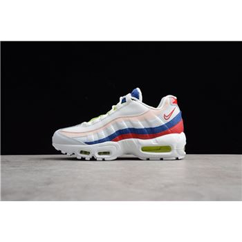 factory authentic e3705 a30d2 Men s and Women s Nike Air Max 95 Corduroy White Multi AQ4138-101
