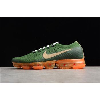 Dragon Ball Super x Nike Air VaporMax Flyknit 2018 Dark Green/Light Brown AA3858-101