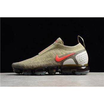 2018 Men's Nike Air VaporMax Moc 2.0 Neutral Olive AH7006-200