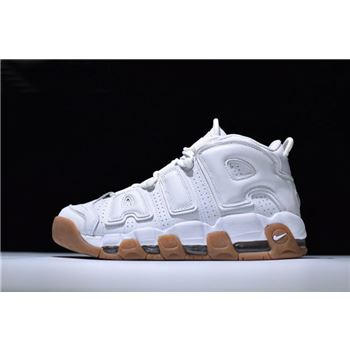 Nike Air More Uptempo White Gum Men's Sneaker 414962-103