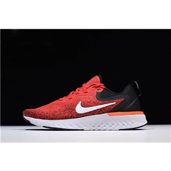 Men's Nike Odyssey React Habanero Red/Black-White Running Shoes AO9819-600