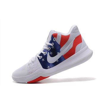 Men's Nike Kyrie 3 Stars And Stripes Basketball Shoes
