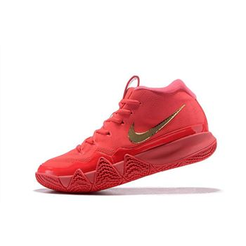 Nike Kyrie 4 Red Carpet Red Orbit/Metallic Gold 943806-602