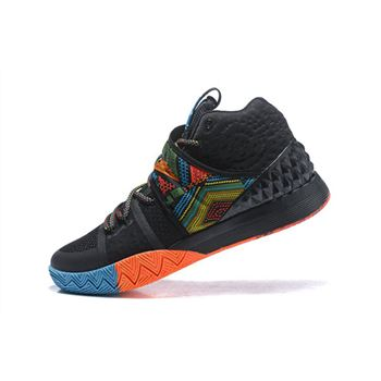 Men's Nike Kyrie S1 Hybrid BHM Black/Multi-Color Free Shipping