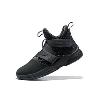 Men's Nike LeBron Soldier 12 SFG Zero Dark Thirty Anthracite/Black AO4054-002