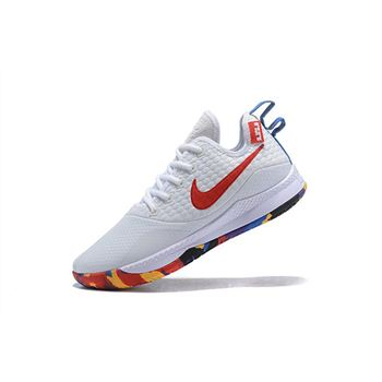 Nike Lebron Witness 3 March Madness White/Multi-Color