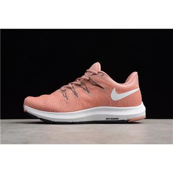 WMNS Nike Quest Pust Pink/Summit White Running Shoes AH7412-600