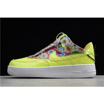 Nike Air Force 1 '07 SE White Fluorescent Green QD1801-888
