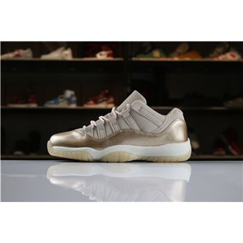 2018 Air Jordan 11 Low Rose Gold AH7860-105 For Sale