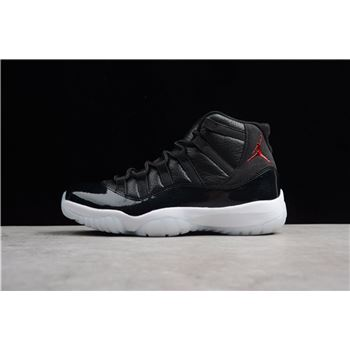 Air Jordan 11 Retro 72-10 Black/Gym Red-White-Anthracite 378037-002