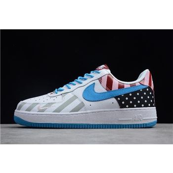 2018 Parra x Nike Air Force 1 '07 White/Multi-Color 315122-170