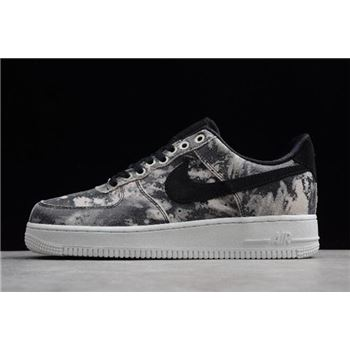 Nike Air Force 1 '07 LXX Black/Metallic Pewter Men's and Women's Size AO1017-001