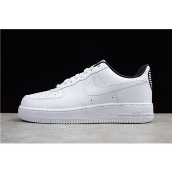 Nike Air Force 1 Low Valentine's Day White/White-Black AJ0867-100